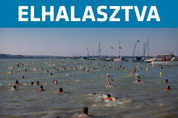 Lidl Balaton-átúszás elhalasztva