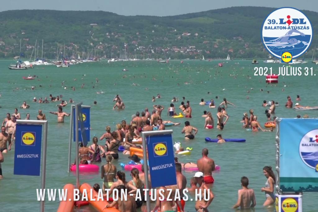 Balaton-átúszás ajánló