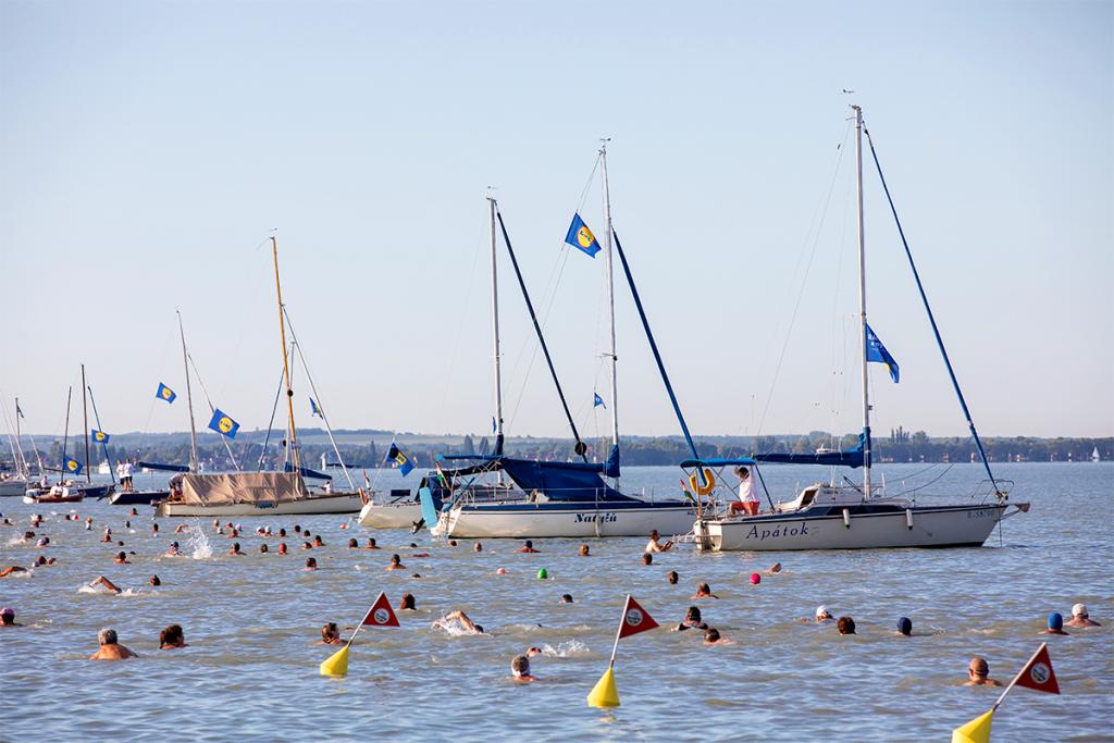 Balaton-átúszás 2021