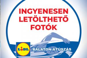 Balaton-átúszás képek