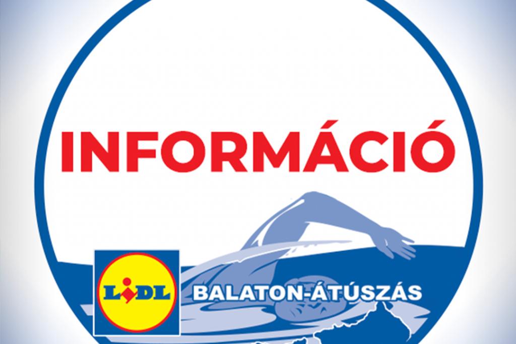 Balaton-átúszás információ