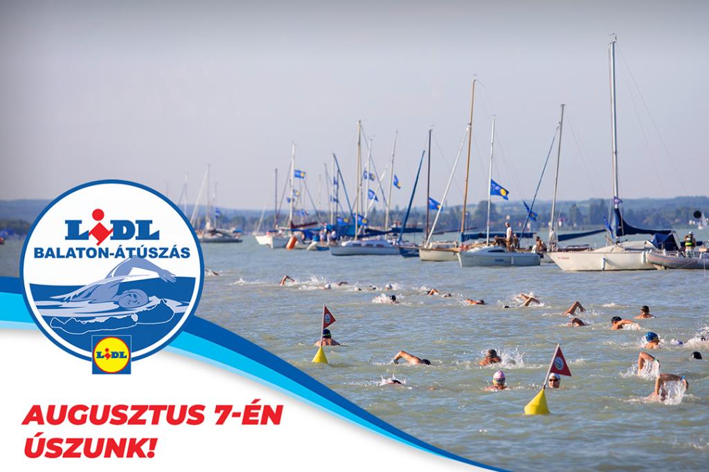 Balaton-átúszás - augusztus 7-én úszunk